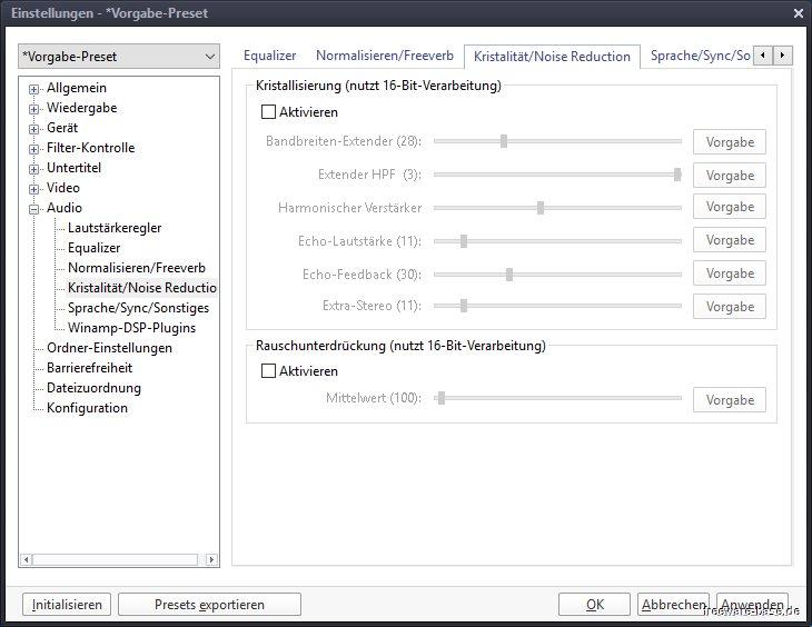 Daum PotPlayer Screenshots - Freeware-base de