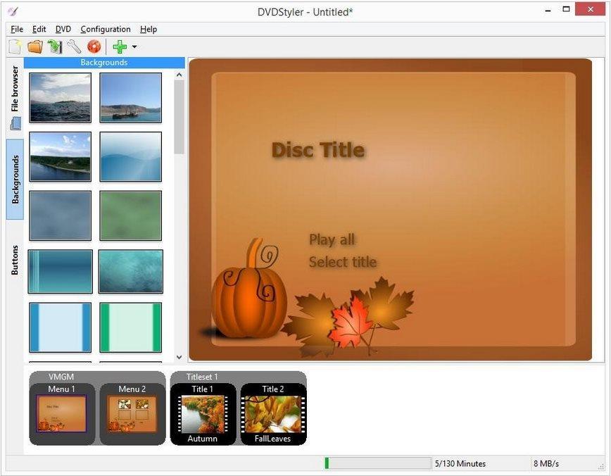 Vorschau DVDStyler and Portable - Bild 2