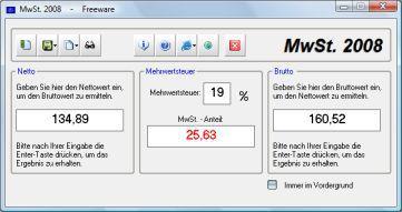 Vorschau MwSt - Bild 1