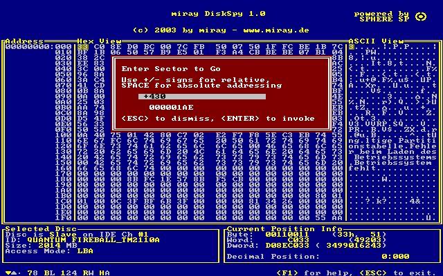 Vorschau DiskSpy Free Edition - Bild 1