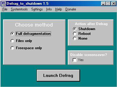 Vorschau Defrag to shutdown - Bild 1