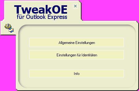Vorschau TweakOE - Bild 1
