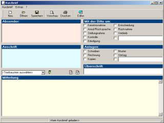 Vorschau Kurzbrief für Windows - Bild 1