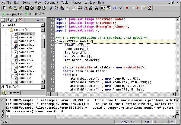 Vorschau Crimson Editor 3.60 - Bild 1