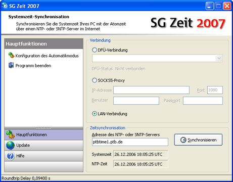 Vorschau SG Zeit 2007 - Bild 1