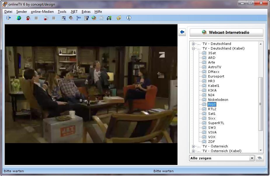 Vorschau onlineTV Toolbar - Bild 1