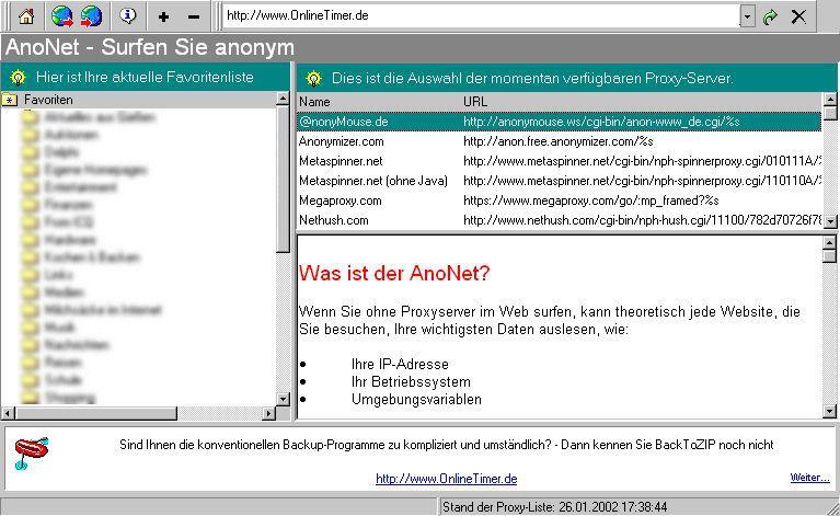 Vorschau AnoNet - Bild 1