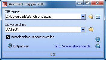 Vorschau AnotherUnzipper - Bild 1
