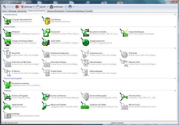 Vorschau SiSoft Sandra Lite - Bild 1