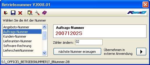 Vorschau Betriebsnummer - Bild 1