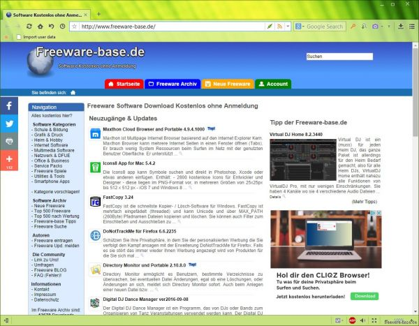 Vorschau Maxthon Cloud Browser and Portable - Bild 1