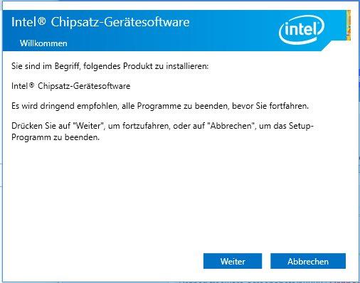 Vorschau Intel Chipset Software Installation Utility - Chipsatztreibe - Bild 1