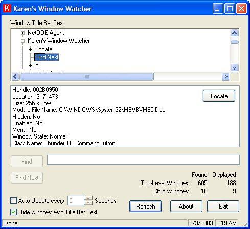 Vorschau Window Watcher 2.0 - Bild 1