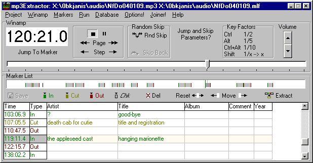 Vorschau MP3 Extractor Build 03.09.15 - Bild 1