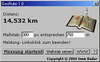 Vorschau GeoRuler 1.0 - Bild 1