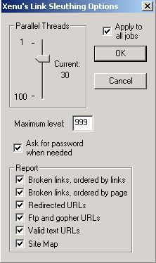 Vorschau Xenu's Link Sleuth 1.2e - Bild 1