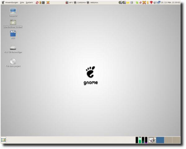 Vorschau GNOME - Bild 1