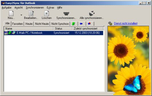 Vorschau Easy2Sync for Outlook - Bild 1