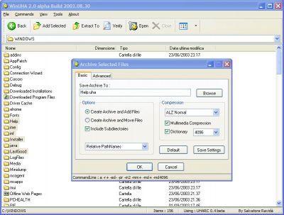 Vorschau WinUHA Build 2005.02.27 - - Bild 1