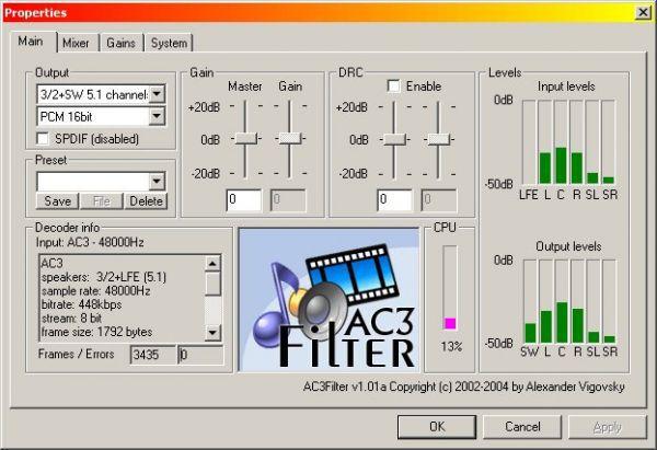 Vorschau AC3Filter - Bild 1