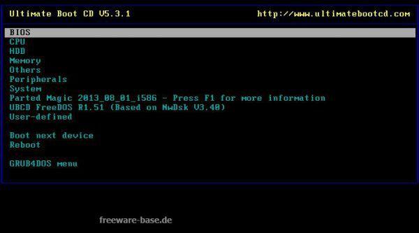 Vorschau Ultimate Boot CD - Bild 1