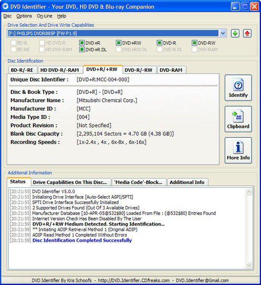 Vorschau DVD Identifier - Bild 1