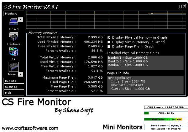 Vorschau CS Fire Monitor - Bild 1