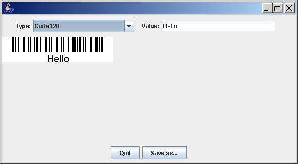 Vorschau Barbecue - Java barcode generator - Bild 1