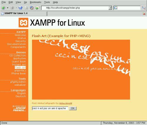 Vorschau XAMPP Linux Upgrade - Bild 1