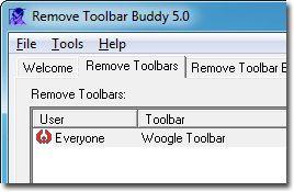 Vorschau Remove Toolbar Buddy - Bild 1