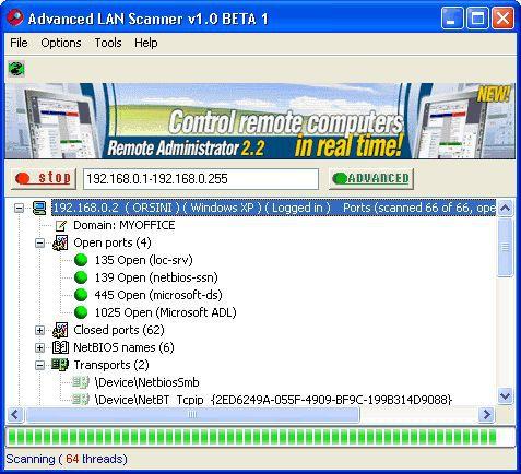 Vorschau Advanced LAN Scanner - Bild 1