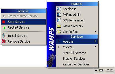 Vorschau WampServer - Formerly WAMP5 - - Bild 1