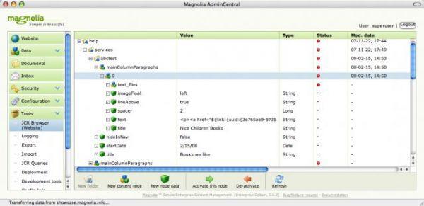 Vorschau Magnolia Content Management System - Bild 1