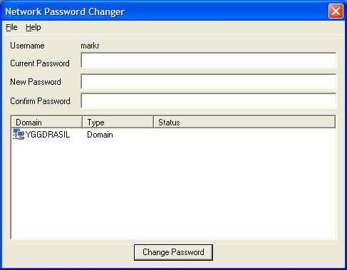 Vorschau Network Password Changer - Bild 1