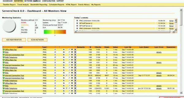 Vorschau ServersCheck STANDARD Edition - Bild 1