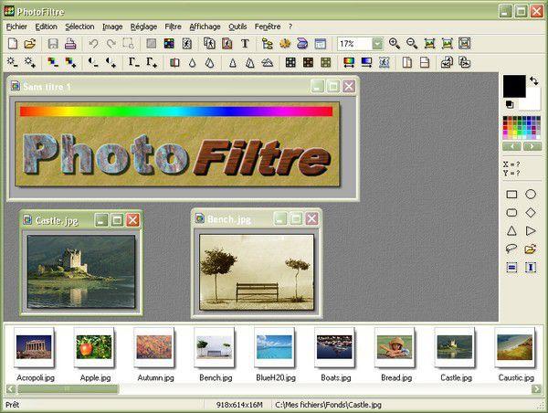Vorschau PhotoFiltre and Portable - Bild 1
