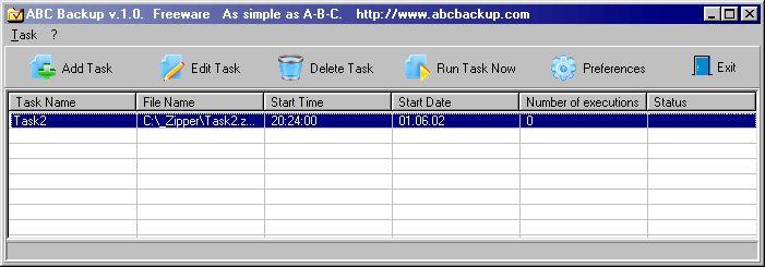 Vorschau ABC Backup - Bild 1