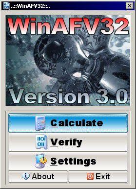 Vorschau WinAFV32 - Bild 1