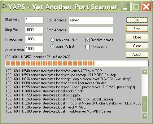 Vorschau YAPS - Yet Another Port Scanner - Bild 1
