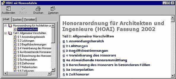Vorschau HOAI mit Honorartafeln 1.03 - Bild 1