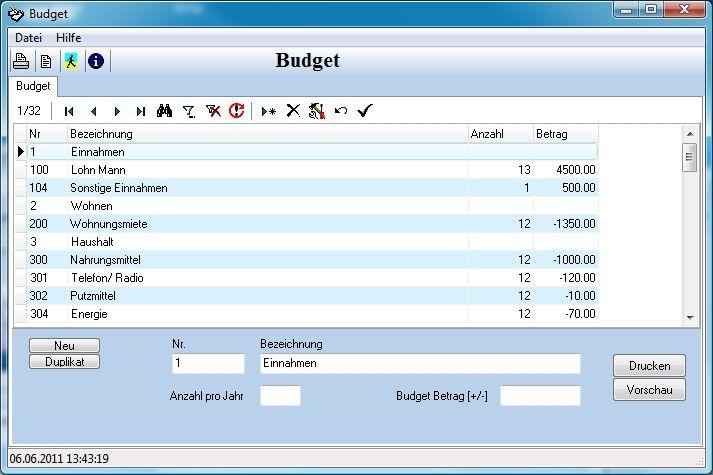 Vorschau Budget - Bild 1