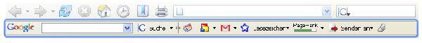 Vorschau Google Toolbar - Bild 1