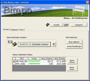 Vorschau Bimpo ... der Bankimporter - Bild 1