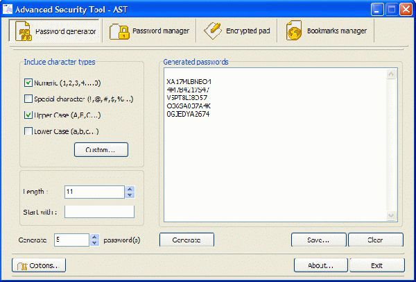 Vorschau Advanced Security Tool - AST - Bild 1