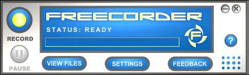 Vorschau Freecorder - Bild 1
