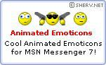 Vorschau Animated MSN Emoticons Set #1 - Bild 1