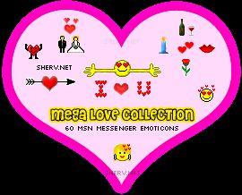 Vorschau Love Emoticons - Bild 1