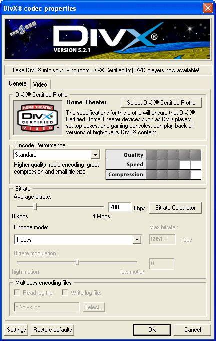 Vorschau DivX Player -with DivX Codec- for 98-Me - Bild 1