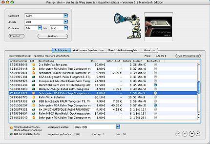 Vorschau Preispiraten für Macintosh - Bild 1