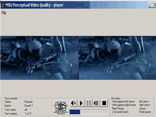 Vorschau MSU Perceptual Video Quality Tool - Bild 1